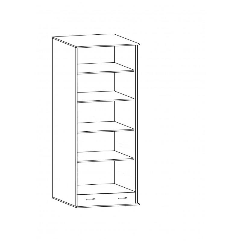 Шкаф распашной РИО-2.2/2.7 двухдверный (фото 3)