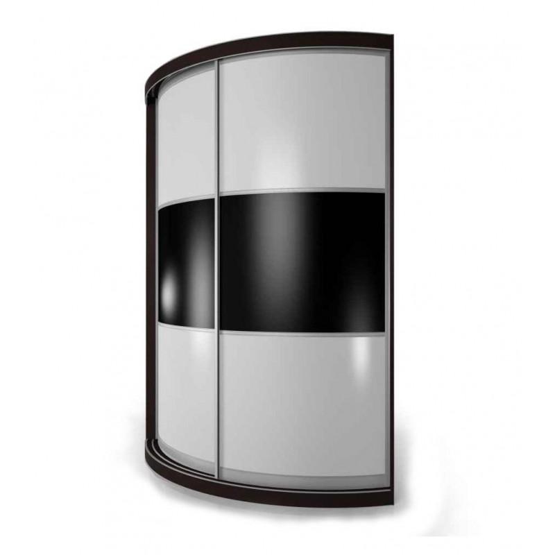 Радиусный шкаф-купе Мебелайн-14