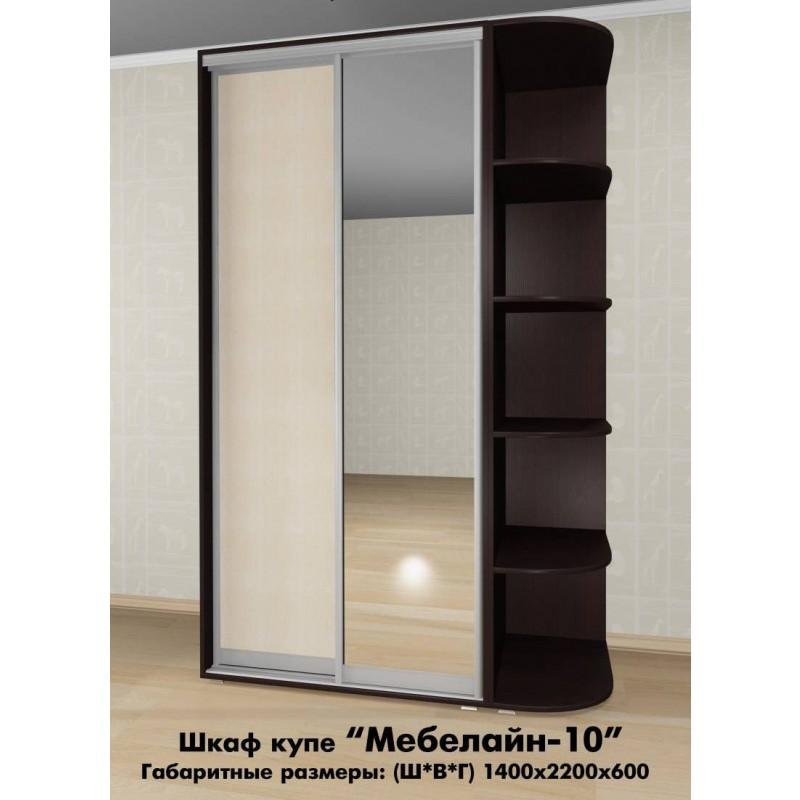 Шкаф-купе Мебелайн-10 (фото 2)