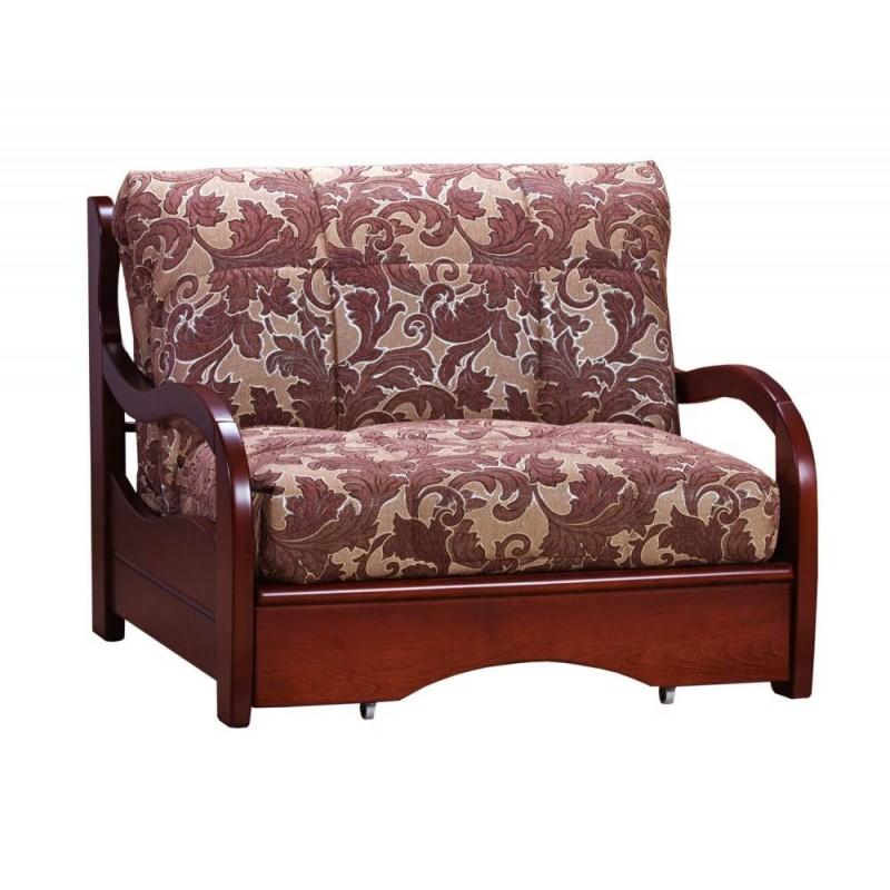 Кресло-кровать Нирвана с деревянными подлокотниками (фото 2)