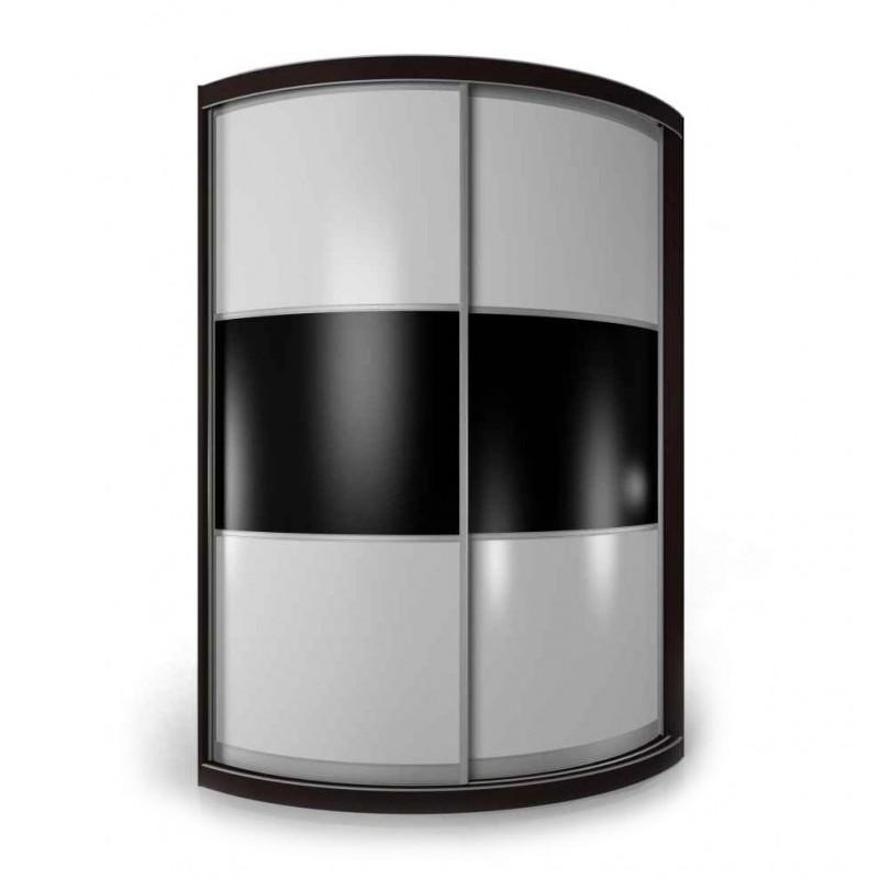 Радиусный шкаф-купе Мебелайн-12