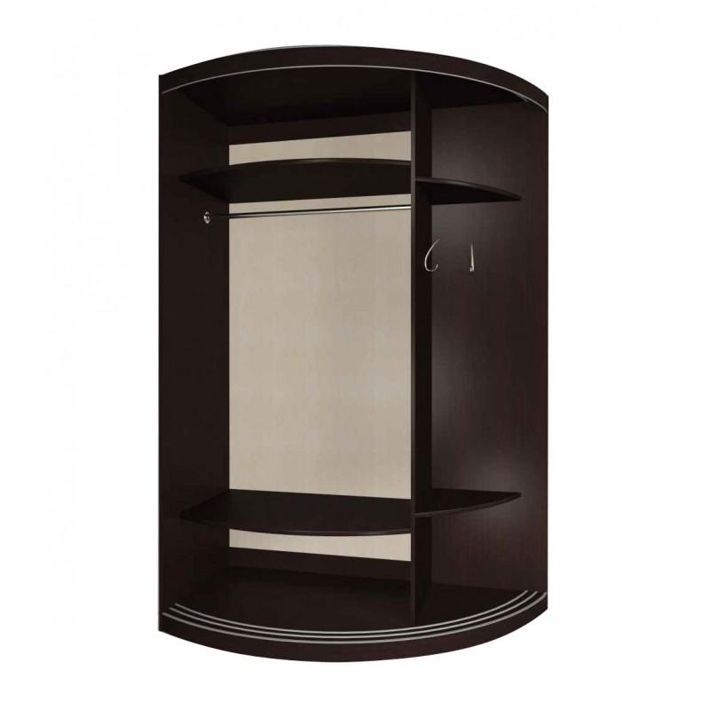 Радиусный шкаф-купе Мебелайн-12 (фото 2)