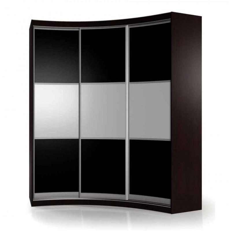 Радиусный шкаф-купе Мебелайн-17