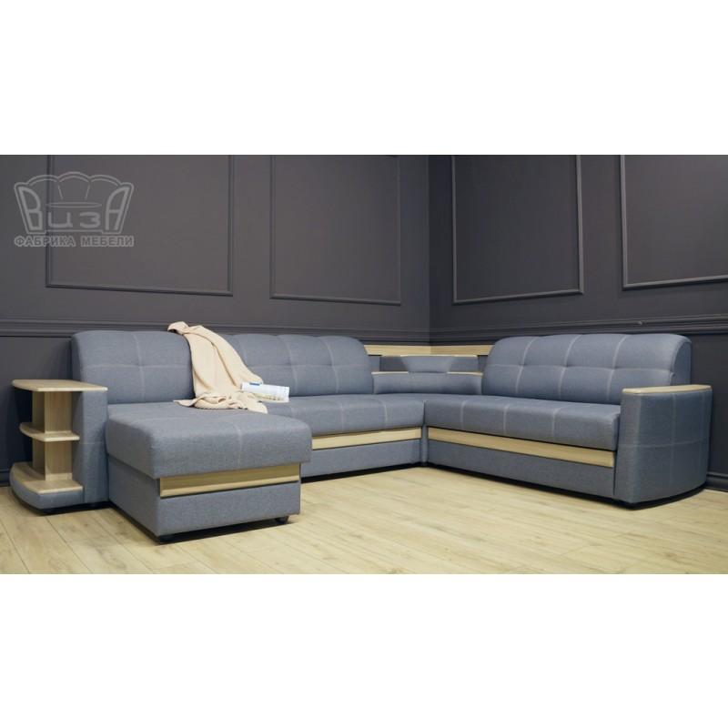 Угловой модульный диван Виза 08 П