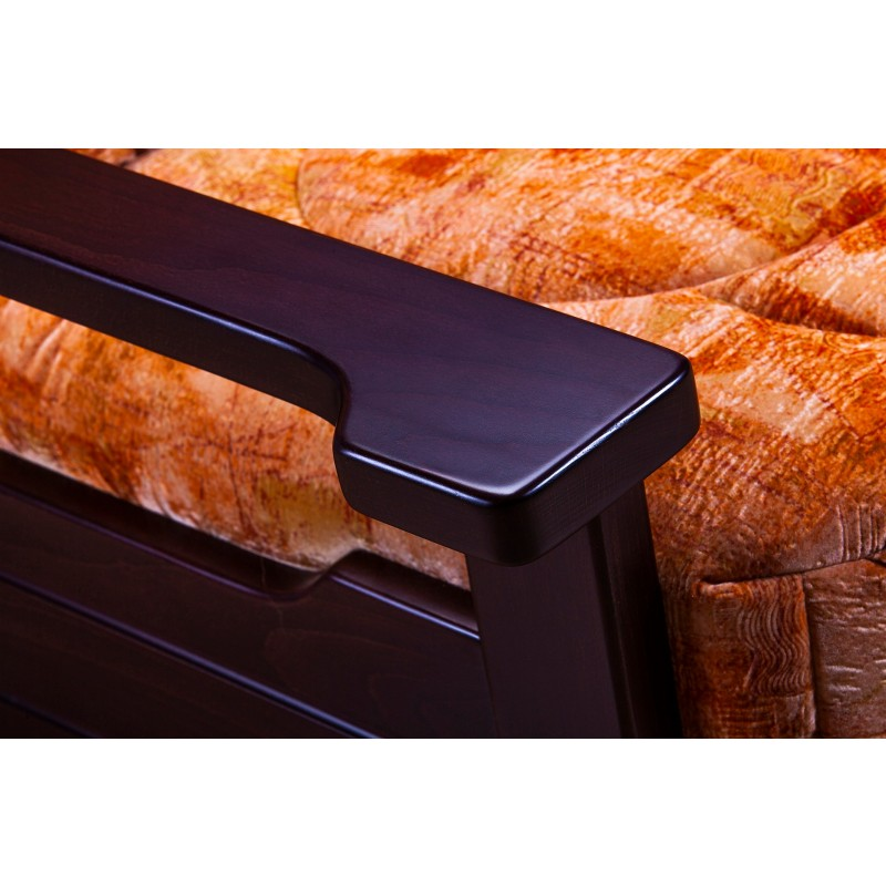 Кресло-кровать Япет с деревянными подлокотниками (фото 3)