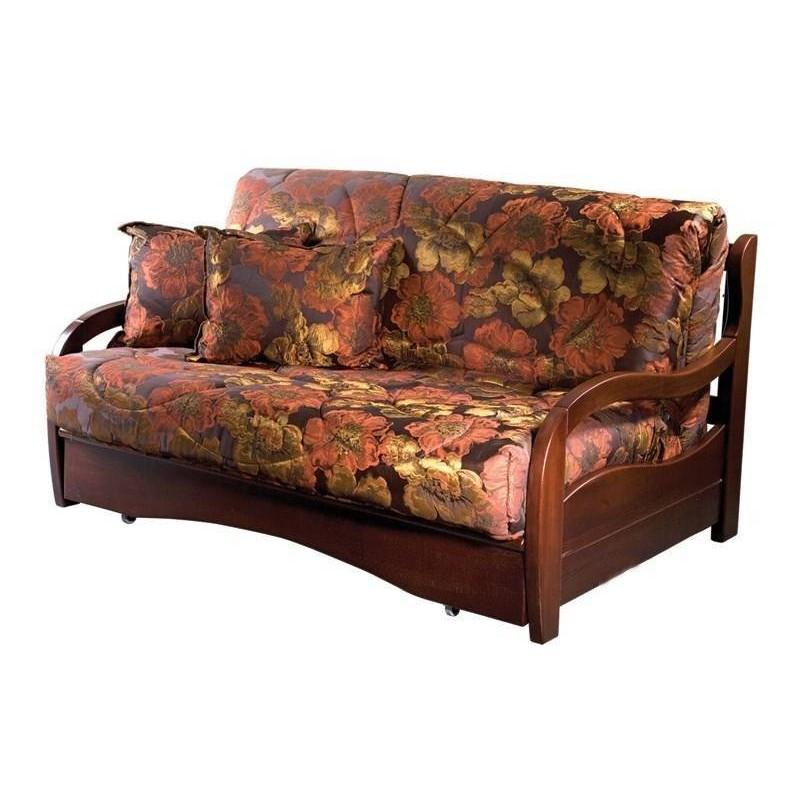 Комплект мягкой мебели Нирвана с деревянными подлокотниками (фото 2)