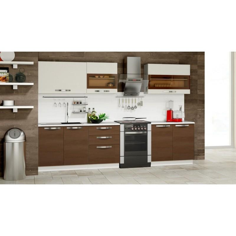 Кухня Капучино-3 МДФ (фото 2)