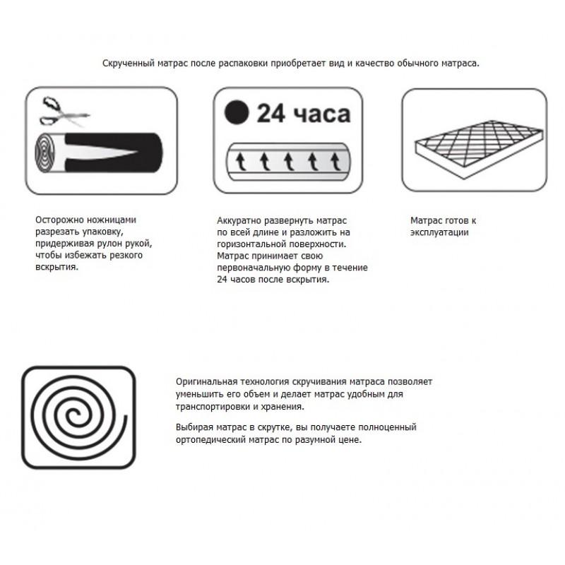 Матрац Comfort независимые пружины со струттофайбером (фото 3)