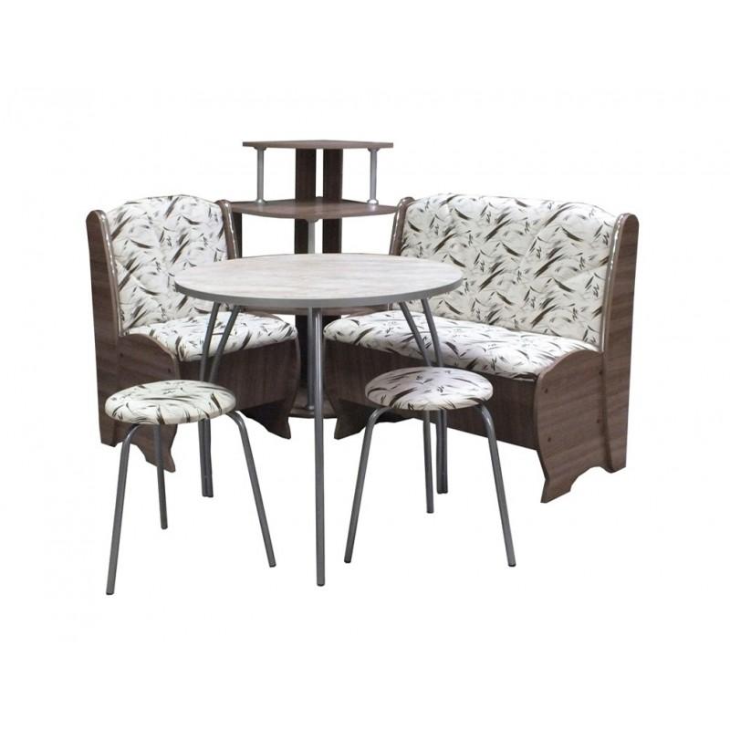 Набор мебели Блюз с круглым столом