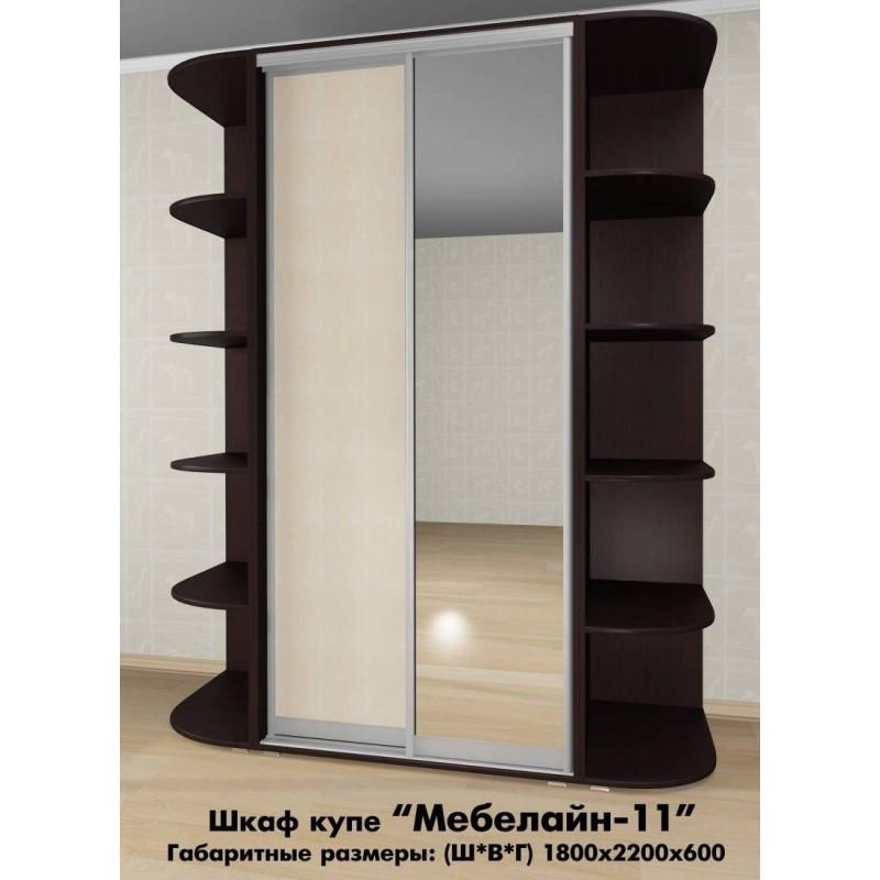 Шкаф-купе Мебелайн-11 (фото 2)