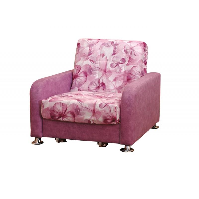 Кресло-кровать Аккорд хром