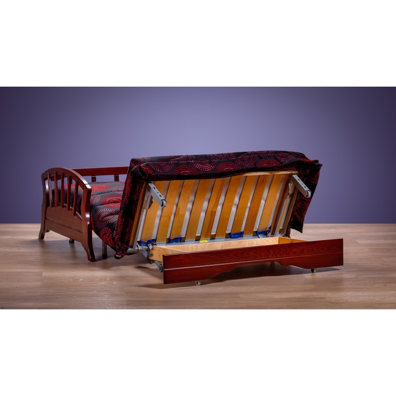 Комплект мягкой мебели Канопус с деревянными подлокотниками (фото 5)