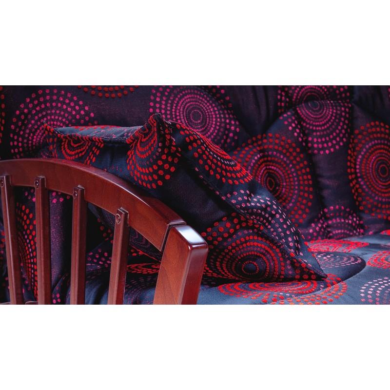Комплект мягкой мебели Канопус с деревянными подлокотниками (фото 6)