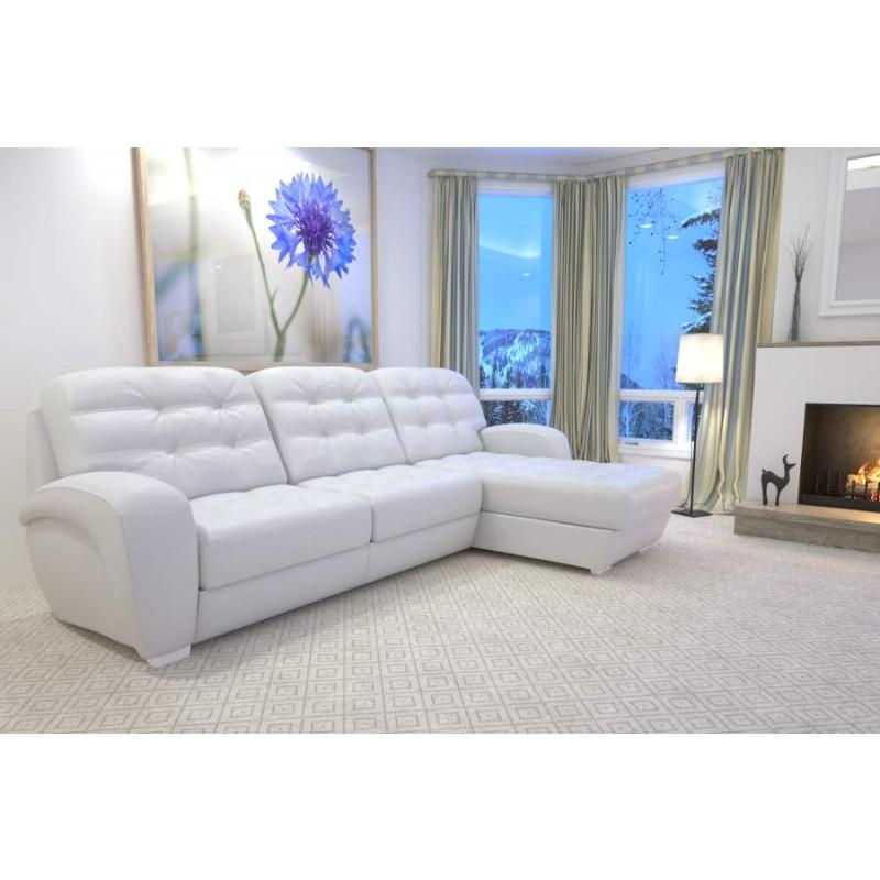 Угловой диван Соло с оттоманкой LAVSOFA (фото 3)