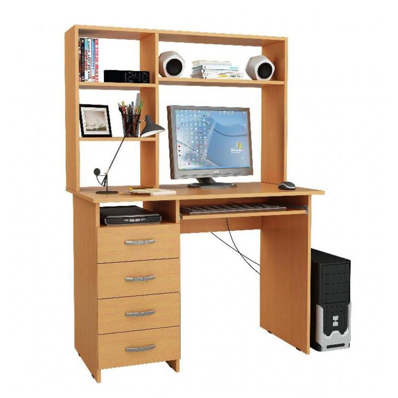 Компьютерный стол Милан-3 с надставкой (фото 4)