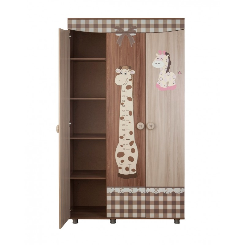 Шкаф трехстворчатый Алиса (фото 2)