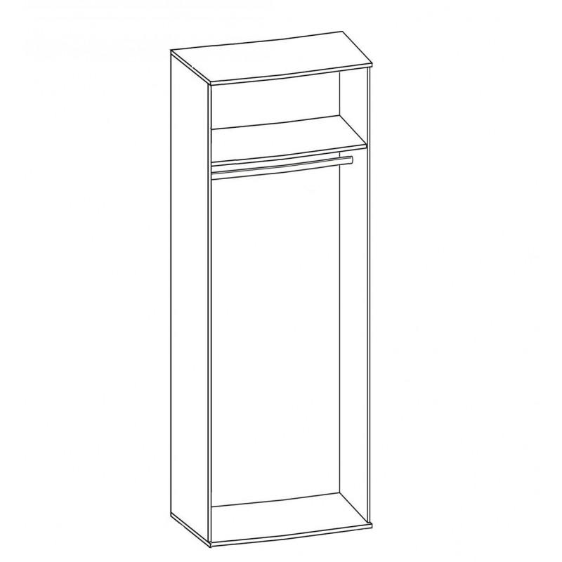 Шкаф для платья  №184 (серия МК 48) (фото 2)