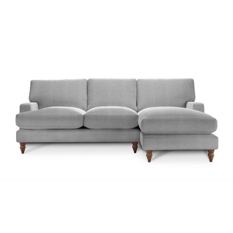 Угловой диван с оттоманкой Болтон ЭКО 2