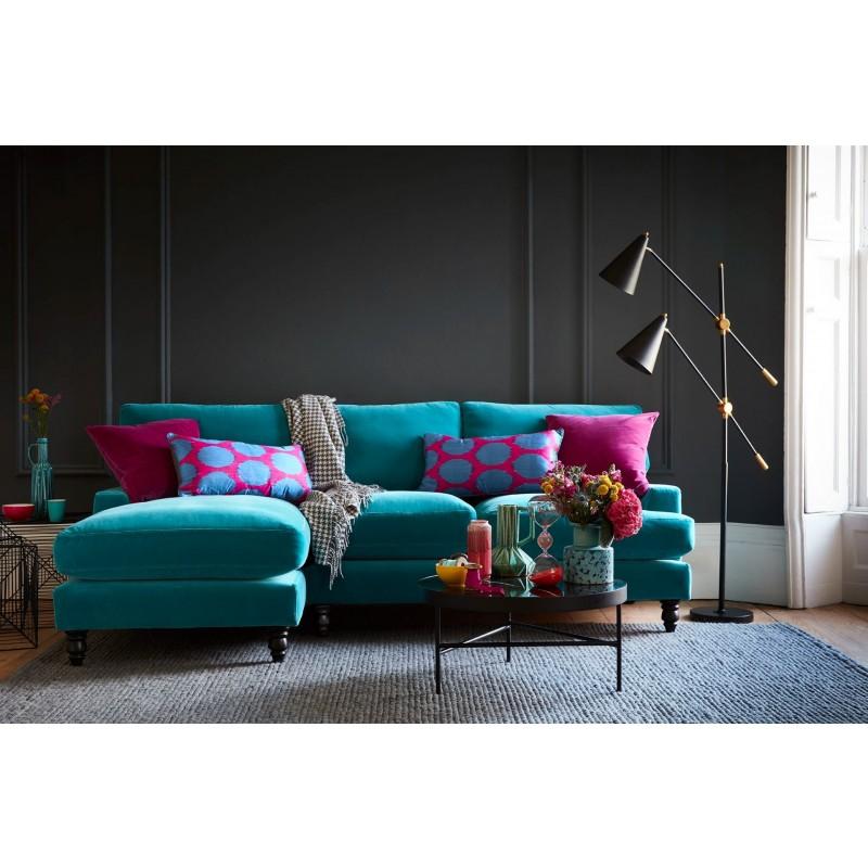 Угловой диван с оттоманкой Болтон ЭКО 2 (фото 3)