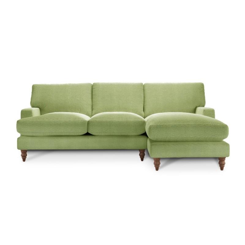 Угловой диван с оттоманкой Болтон ЭКО 2 (фото 4)