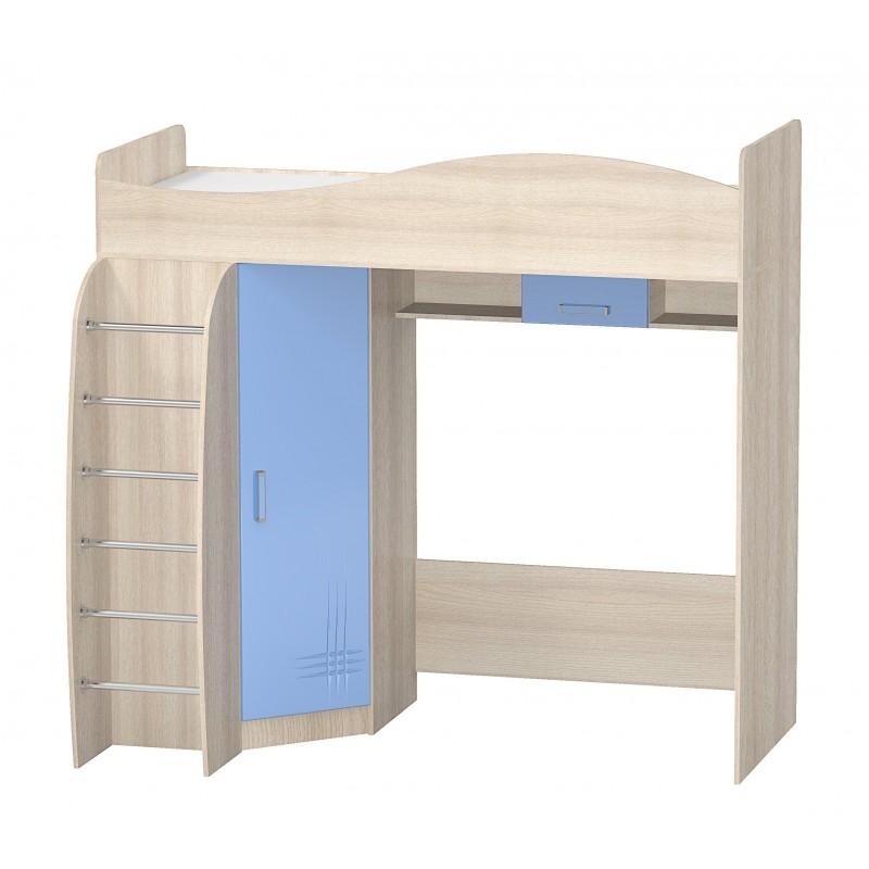 Кровать двухъярусная Алешка МДФ (фото 2)