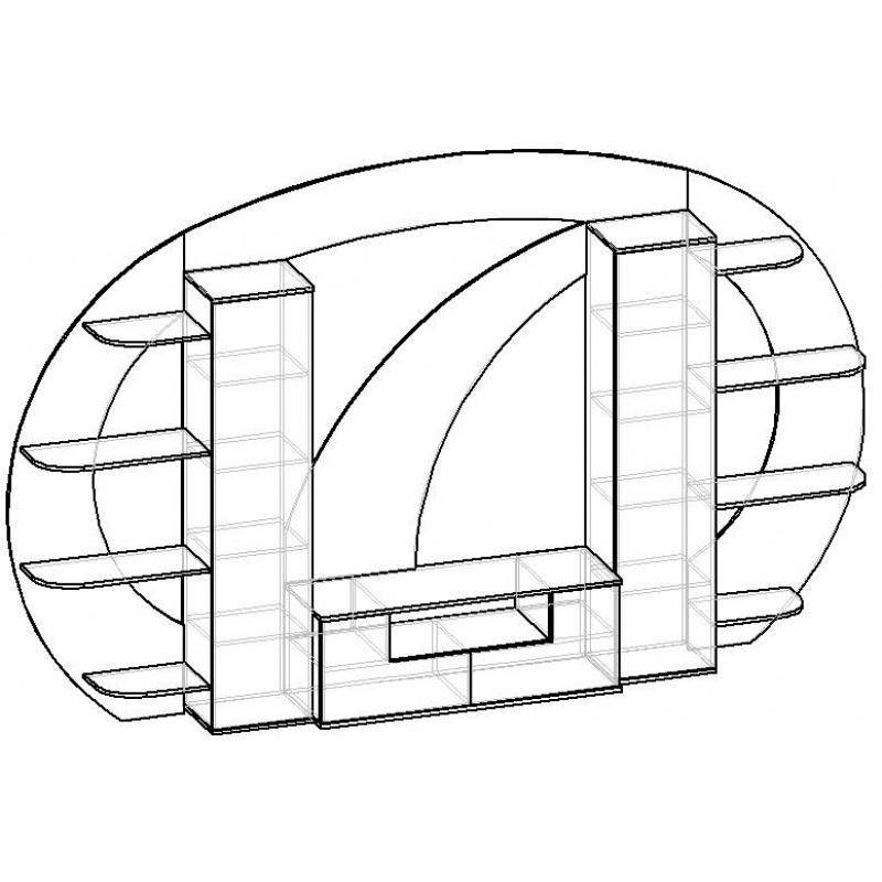 Стенка Мебелайн-12 (фото 3)