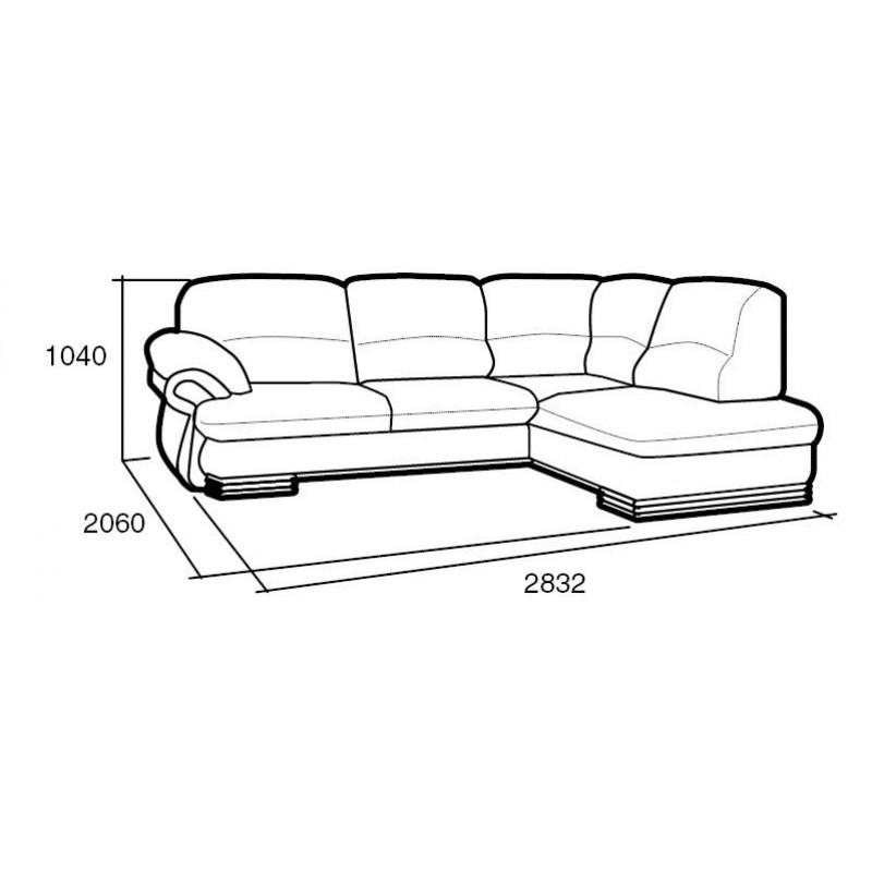 Угловой диван Мадрид (фото 2)