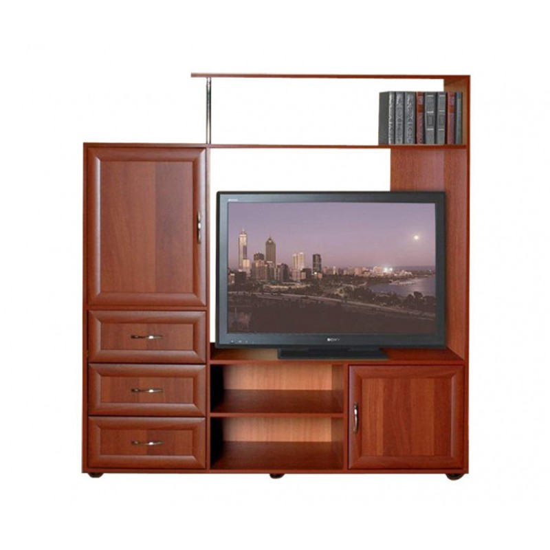 Тумба под телевизор ТВ-2 с ящиками