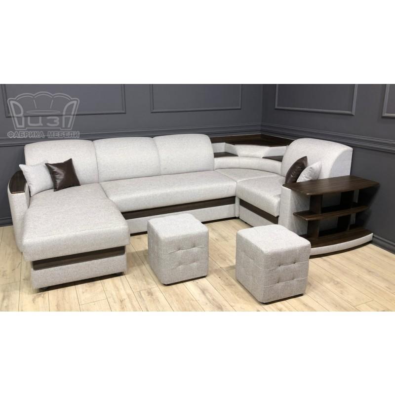 Угловой модульный диван Виза 08 (фото 2)
