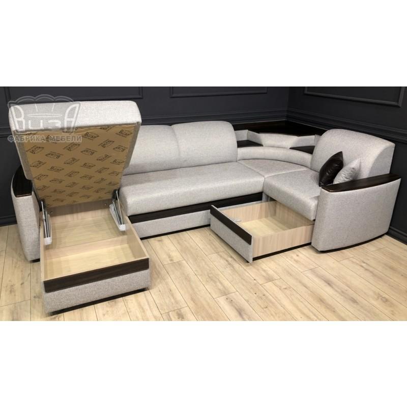 Угловой модульный диван Виза 08 (фото 3)
