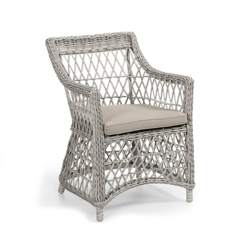 Комплект плетеной мебели Beatrice white (фото 4)