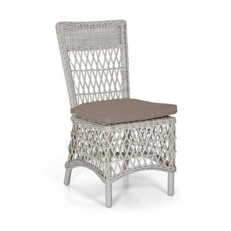Комплект плетеной мебели Beatrice white (фото 5)